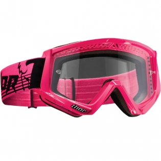 Thor Conquer Goggles - Flo Pink Black