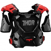 Thor Kids Guardian Body Protection - Black Red