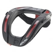EVS R4K Koroyd Race Collar - Black Red