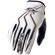 ONeal Element Motocross Gloves - White