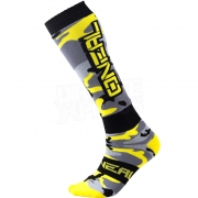 ONeal MX Boot Socks - Hunter Black Grey Neon