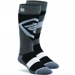 100% Torque Motocross Socks - Black