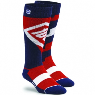 100% Torque Motocross Socks - Red