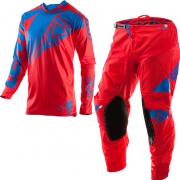 2017 Leatt GPX 4.5 Lite Motocross Kit Combo - Red Blue