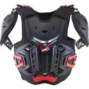 Leatt 4.5 Pro Junior Chest Protector - Black Red