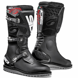 Sidi Zero.1 Trials Boots - Black