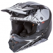 2017 Fly Racing F2 Carbon MIPS Helmet - Matte White Black