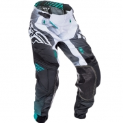2017 Fly Racing Lite Hydrogen Pants - Black White Teal