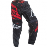 2017 Fly Racing Kinetic Pants - Relapse Black Red White