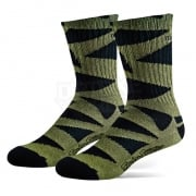 Troy Lee Designs Edge Crew Socks - Black Army