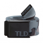 Troy Lee Designs Fleet Web Belt - Black Grey