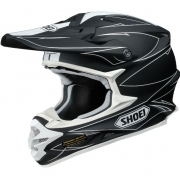 2017 Shoei VFXW Helmet - Hectic Matt Black White TC5