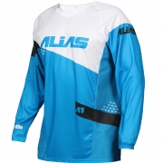 2017 Alias A1 Jersey - The Standard Neon Blue White