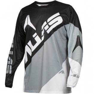 2017 Alias A2 Jersey - Blocked Black Grey