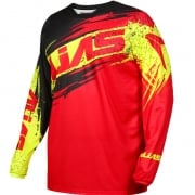 2017 Alias A2 Jersey - Brushed Red Black