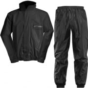 Acerbis Waterproof Rain Suit Set - Black