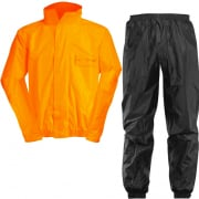 Acerbis Waterproof Rain Suit Set - Fluo Orange Black