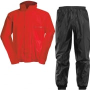 Acerbis Waterproof Rain Suit Set - Red Black
