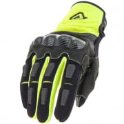 Acerbis Carbon G 3.0 Motocross Gloves - Fluo Yellow Black
