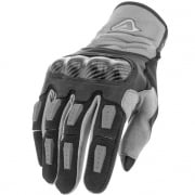 Acerbis Carbon G 3.0 Motocross Gloves - Black Grey