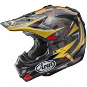 Arai MXV Motocross Helmet - Broc Tickle Trophy Girl Red Ltd Edition