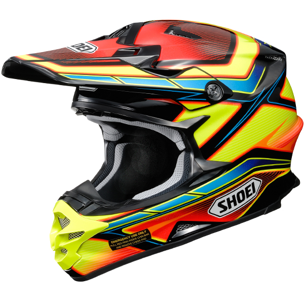 2017 Shoei VFXW Helmet | Capacitor Multicolour TC3 ...