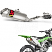 Akrapovic Stainless Exhaust System - Kawasaki KXF 250 2017-Current