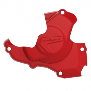 Polisport Honda Ignition Cover Protector - Red