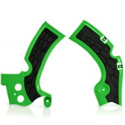 Acerbis Kawasaki X-Grip Frame Guards - Green