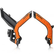 Acerbis KTM X-Grip Frame Guards - Black Org