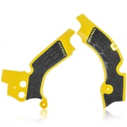 Acerbis Suzuki X-Grip Frame Guards - Yellow Black