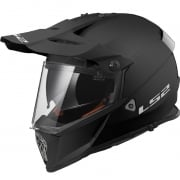 LS2 Pioneer MX436 Helmet - Solid Matt Black