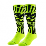 Troy Lee Designs GP Kids Motocross Socks - Skully Yellow