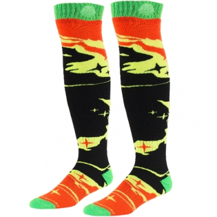Troy Lee Designs GP Motocross Socks - Galaxy Black Yellow
