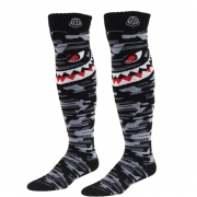 Troy Lee Designs GP Kids Motocross Socks - P-51 Grey