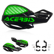 Acerbis MX Uniko Vented Handguards - Black Green