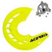 Acerbis X-Brake Front Disc Protector Fluo Yellow