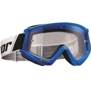 Thor Combat Goggles - Blue White
