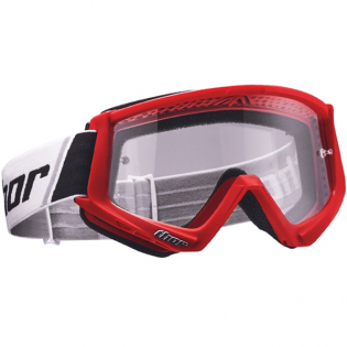 Thor Combat Goggles - Red Black