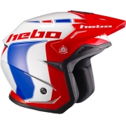 Hebo Zone 5 Polycarb Trials Helmet - Like Blue Red