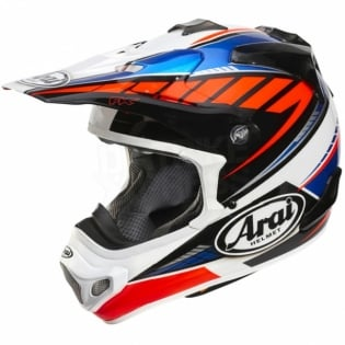 Arai MXV Motocross Helmet - Rumble Blue