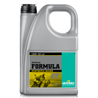 Motorex Formula 4T Semi Synthetic Oil - 4 Litre