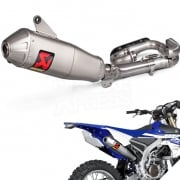Akrapovic Stainless Exhaust System - Yamaha WRF 250 2017-Current