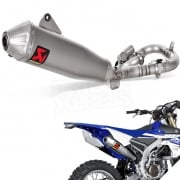 Akrapovic Stainless Exhaust System - Yamaha WRF 450 2016-Current