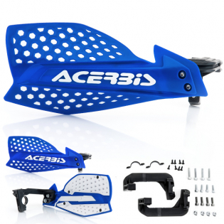 Acerbis X-Ultimate Handguards - Blue White