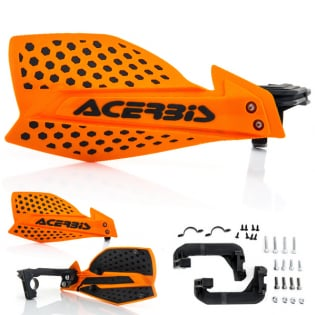 Acerbis X-Ultimate Handguards - Orange Black