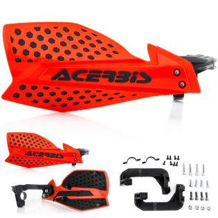 Acerbis X-Ultimate Handguards - Red Black