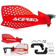 Acerbis X-Ultimate Handguards - Red White