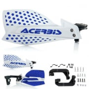 Acerbis X-Ultimate Handguards - White Blue