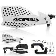 Acerbis X-Ultimate Handguards - White Black